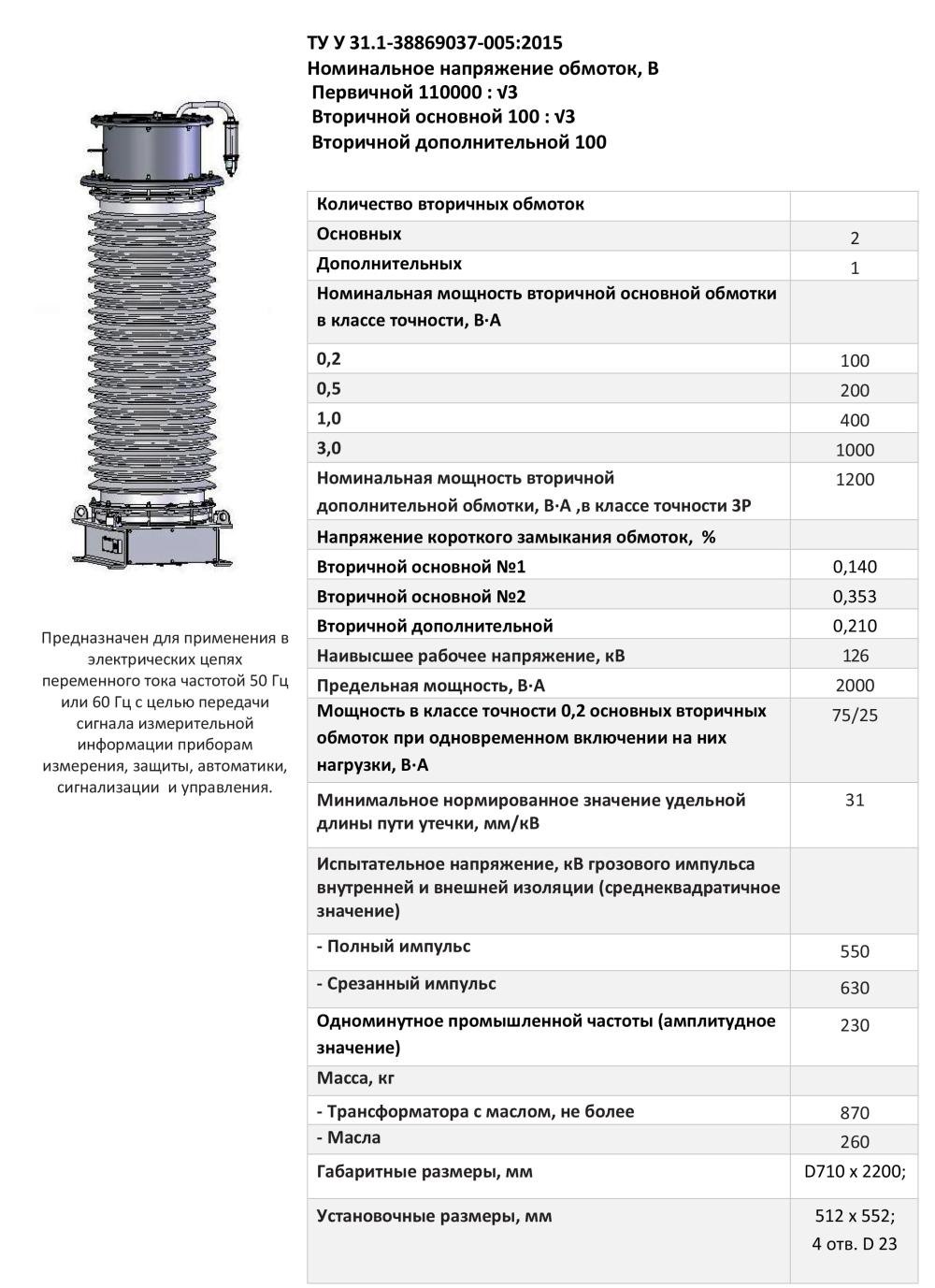 НКФА – 123 IV УХЛ1 0,2