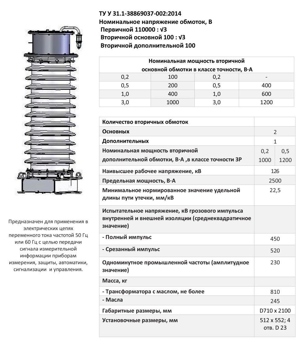 НКФ – 123 II У1‐И, НКФ – 123 II ХЛ1‐И